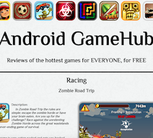 Android Gamehub